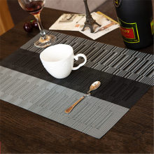 European Style PVC Polyester Heat Insulation Placemat Dining Table Runner Place Mat Kitchen Accessories Cup Wine Mat Coaster
