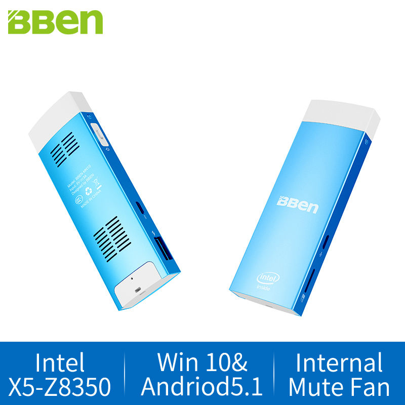 New Arrival BBen Mini PC Windows 10 &amp; Android 5.1 Intel Z8350 CPU Memory 2G Storage 32G Intel Gen8 HD Graphics HDMI USB3.0 MN1S<br><br>Aliexpress