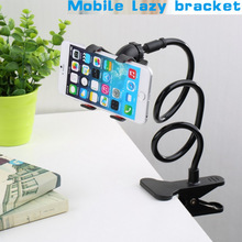 latest 360 Degree Roating Flexible Phone Holder Stand For Mobile Long Arm Holder Bracket Support For Bed Desktop Tablet
