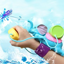 Children Baby Swimming Pool Bathroom Beach Toy Elephant Water Blaster Spraying Gun Cannon Sand Water Fight Bath Toys