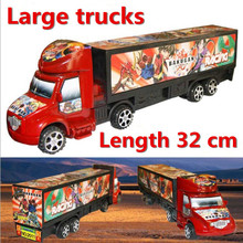 Toy Vehicles, children's cartoon model Big trucks toys, retail, wholesale, free shipping