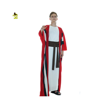 2017 Adults Men Arab Prince King Cosplay Costume Party Fancy Dress Carnival Costumes Abraham Christ Robe For Carnival Cosplay