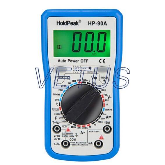 Manual Range best digital multimeter digital AVO meter HP-90A HP90A<br>