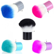 5Pcs Professional Cosmetic Powder Foundation Brush Colorful Nail Cleaning Brush Remover Acrylic Nail Dust Cleaner Brush Manicure