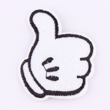 Embroidery Patches For Clothing 1Pcs   Iron On Patches Punk Motif Applique DIY Accessory Clothes Stickers