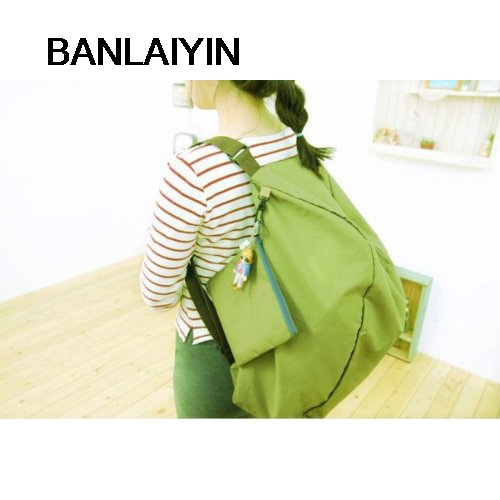 Green Multifunction Convert Foldable Storage Bag Shoulder Bags(China (Mainland))