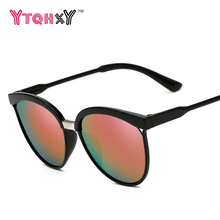 2017 Fashion Cat Eye Sunglasses Women Brand Designer Vintage Ladies HD Lens UV400 Sun glasses For Women oculos de sol Y154