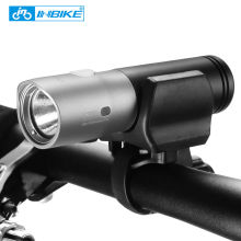 INBIKE 1000 lumen usb rechargeable flashlight mini waterproof powerful led bike bicycle light CREE XM-L2 U3 safety front - Feng Cycling Store store