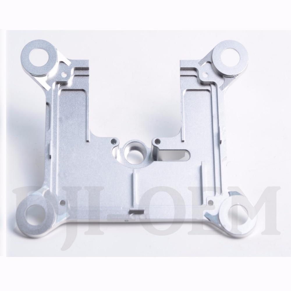 DJI-Phantom3 -P3AP Pro/Adv-Gimbal Base Plate-Set CNC-Milled-Solid-Aluminum Solid Aluminum<br>