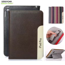 SZEGYCHX Fashion PU Leather Tablet Smart Cover Laptop Case For iPad mini 123 / Air 1 Sleep Wake function Gift Touchsreen pen