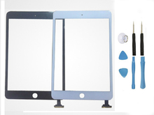 LCD Glass Touch Screen Digitizer with Flex cable Repair For iPad Mini 1 A1432 A1455 & iPad mini 2 A1489 A1490 Without  IC Chip