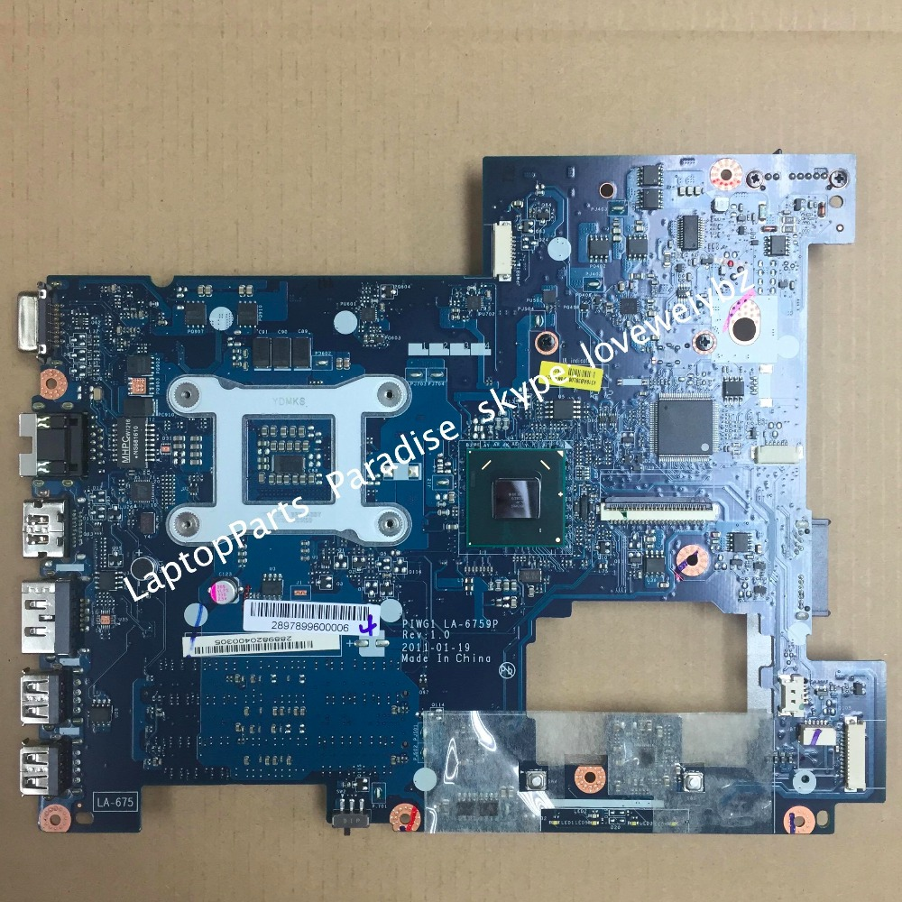 Free shipping  LA-6759p Rev:1.0 Motherboard For Lenovo G470 with HDMI Port<br><br>Aliexpress