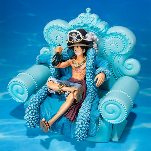 NEW hot 15cm One Piece 20th blue Monkey D Luffy Action figure toys doll collection Christmas gift with box<br>