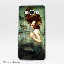 3608CA The Mermaid s Pearl Transparent Hard Cover Case for Galaxy A3 A5 A7 A8 Note 2 3 4 5 J5 J7 Grand 2 & Prime