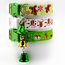 2017 Newest Nylon Reflective Small Dog Collars Night Safety Pet Leads Adjustable Colorful Necklace Rope For Small Dogs