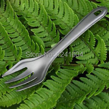 Fire Maple Titanium Tableware Titanium Fork Potable Cutlery Outdoor Camping Picnic Tableware FMT-T20 Ultralight 9g(China)