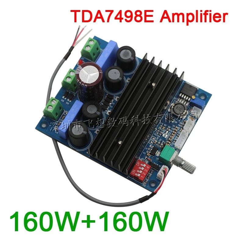 TDA7498E 160W+160W High Power digital stereo amplifier board PBTL 220W mono channel Gain mode DC 24v-36v<br><br>Aliexpress