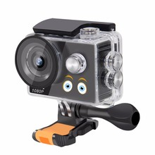 Waterproof Kids Camera HD 1080P Outdoor Underwater Cartoon Camera 140 Degrees 2G2P Lens Camcorder Digital Video Camera(China)