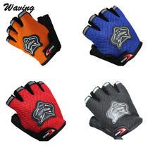 4Colors Gloves Bicycle Gloves Anti-scratch Cycling Glove Half Finger Gel bike Breathable Men Women Cycling Bike Gloves ciclismo