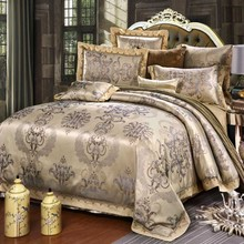 Hot Sale Designer Luxury Bedding Set Jacquard comfortable Bedding Sets Home Textile Queen King size