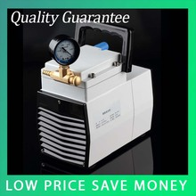 LH-85 220V/110V Plastic 1 Stage Pneumatic Oilless Lab Electric Small Diaphragm Suction Air Medical Vacuum Pump(China)