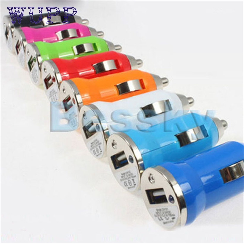 Car-styling mp3 usb adapter car-charger USB Car Charger for Apple iPhone iPod Nano Mini MP4 MP3 PDA januar17(China (Mainland))