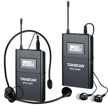 Takstar WTG-500 UHF Wireless Acoustic Transmission System Wireless tour guide system voice device 4 languages