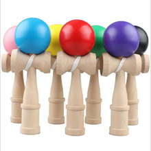 New High Quality Safety Kendama Outdoor Toy Balls Bamboo Best Wooden Toys Kids Toy HT3911