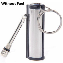 10001 Hair Emergency Fire Starter Flint Match Lighter Metal Outdoor Camping Hiking Instant Survival Tool Safety Durable(China)