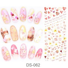 Manicure watermark Sticker Decal Sticker DS061-070 Korea Manicure Nail Sticker