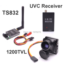 5.8G FPV Receiver UVC Video Downlink OTG VR Android Phone + TS832 600mW 48CH Transmitter Module + 1200TVL COMS 2.8mm Camera(China)