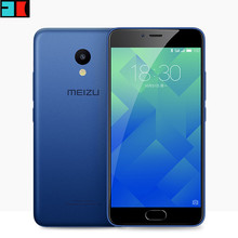 "Original Meizu M5 Global Firmware 4G LTE Cell Phone 2.5D Glass MT6750 Octa Core 5.2"" 3GB RAM 32GB ROM 13MP 4G LTE Fingerprint"