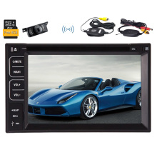 "Autoradio Radio EQ Electronics 6.2"" GPS Car DVD Map USB MP5 Player Multimedia FM AM Stereo Bluetooth MP4 Touchscreen"