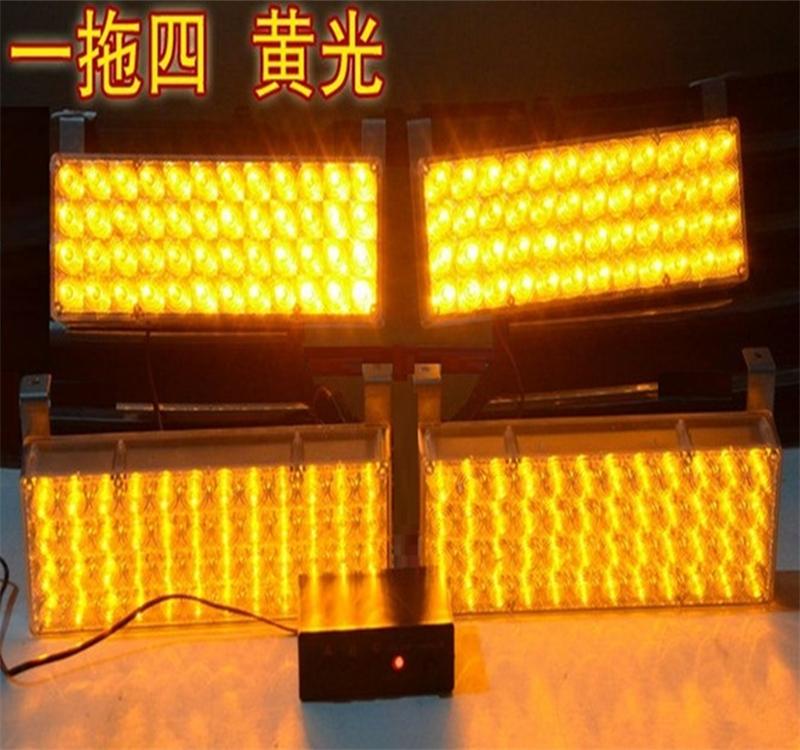 Free shipping 4X48led 192led AMBER flash lamp Signal Light Strobe Flash Light warning light fire emergency lamp flashing light<br><br>Aliexpress