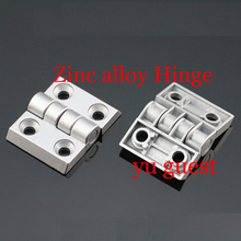 50pcs/packs Zinc alloy hinge apply 50x50 profile door window connector