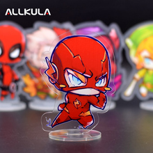 New 10CM The Flash Action Figure Cute Acrylic PVC Collectible Model Toys Christmas Gift LP10(China)
