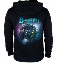 Free shipping  The Browning Zombie Soldier more harmonious brownings were nuclear metal commemorative 100% cotton hoodie