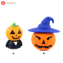 Pen drives 8gb, pumpkin lantern USB flash drive  64g/32g/16g/4gb USB stick hot sale USB stick 64gb Halloween gift, cle usb 16 go