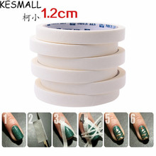 KESMALL 17M French Manicure Nail Art Tips Creative Nail Stickers Masking Tape Nail Art Tools Edge Guide Tips DIY Stickers CO454