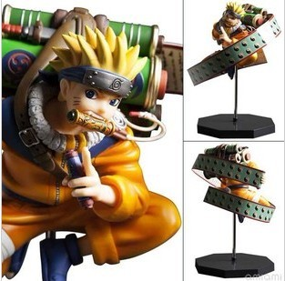 Anime Uzumaki Naruto PVC Figure Collection Model Toy  23cm<br>