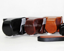 New Hot camera bag for Canon SX50 HS for Powershot SX50HS Leather PU Case free shipping+tracking number