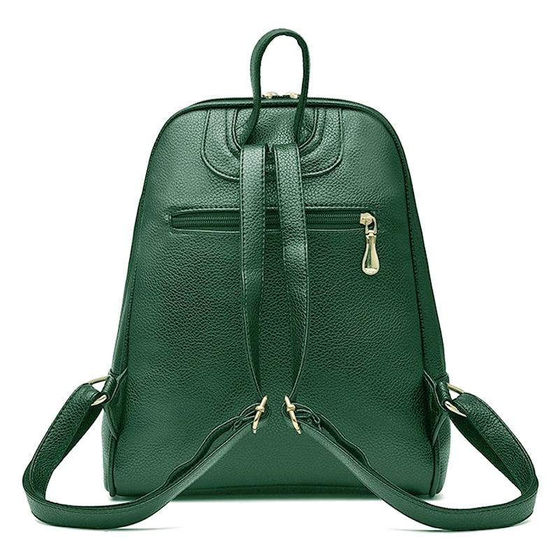 Nevenka Women Backpack Leather Backpacks Softback Bags Brand Name Bag Preppy Style Bag Casual Backpacks Teenagers Backpack Sac08