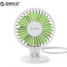 ORICO USB Fan Flexible USB Portable Mini Fan for Notebook Laptop Computer Power with Key Switch Angle adjustable -White(UF1-WH )(China)