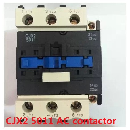 CJX2-5011 AC contactor 380V 50A silver point Voltage optional 380V 220V 110V 36V 24V<br>
