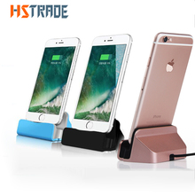 Original Sync Data For Apple Iphone Charging Dock Station Desktop Docking Charger For Iphone 5 5s Iphone 6 6plus 7 USB Charger