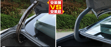 2 Pcs ! Exterior For Nissan Teana Altima 2013 2014 2015 Plastic Accessories Rear Trunk Hinged Protective Molding Cover Kit Trim