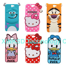 For HTC A9 Soft Silicon Case For HTC One A9 Hello Kitty Sulley Tiger Donald Duck Daisy Skin Cartoon Cover Mobile Phone Bag Cases