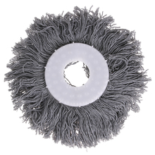 1PC Mops Head Replacement 360 Rotating Head Magic Microfiber Spinning Floor Easy Spin Mops Super Water Dust Absorbing Clean Tool