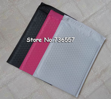 Pink/Black 8.5X11inch / 216X280MM Usable space Poly bubble Mailer envelopes padded Self Sealing Mailing Bag [50pcs]