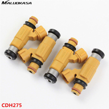 MALUOKASA 4Pcs Car Fuel Injector 318cc For Marine Yamaha F150 Outboard Four Stroke CDH275 High Flow Car-styling Auto Replacement(China)